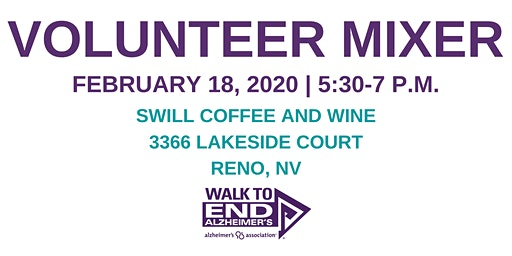 Alzheimer's Association Volunteer Mixer