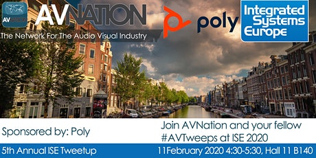 AVNation ISE 2020 Tweetup #PolyTweetUp tickets