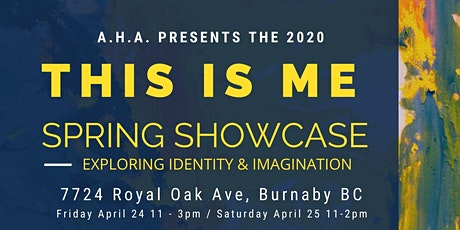 THIS IS ME : Spring Art Showcase tickets