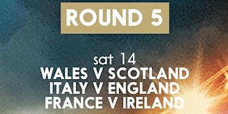 6 Nations Round 5 @ The Jollies tickets