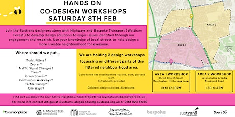 Levy Bee Network - Hands On Co-Design Workshop - Area 2 tickets