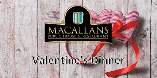 Valentines Week Dinner at Romantic Pub