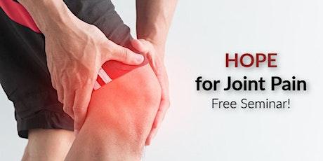 Advanced Treatment Options For Osteoarthritis Knee Pain tickets