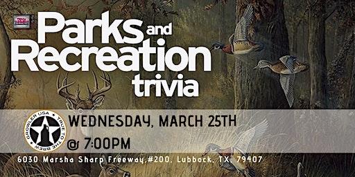 Parks & Rec Trivia at Growler USA Lubbock
