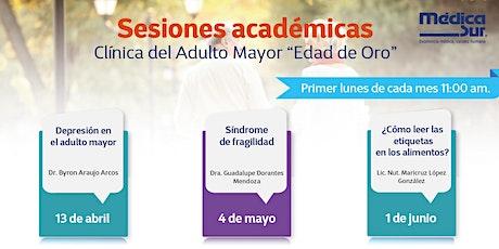 Sesiones Club del Adulto Mayor boletos