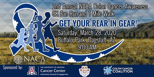 2nd Annual NACA Colon Cancer 5K Run/1 Mile Walk - Get Your Rear