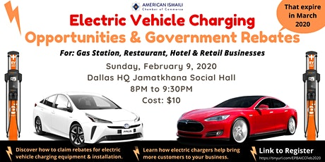 EV Charging Opportunities & Government Rebates tickets