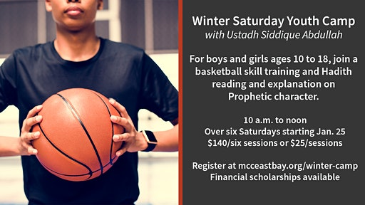 Winter Saturday Basketball & Adab Youth Camp for Boys & Girls