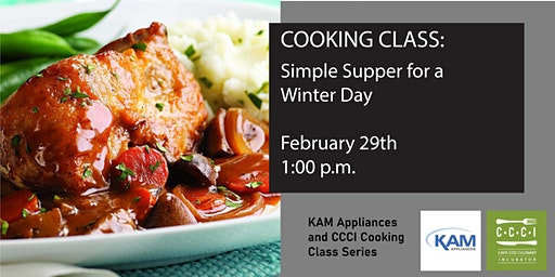 Cooking Class: Simple Winter Supper