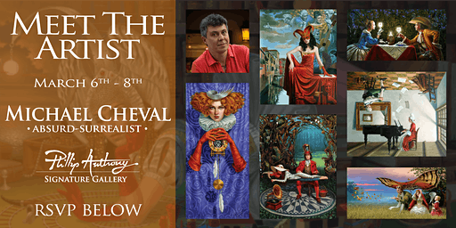 Meet the Artist: Michael Cheval