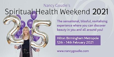 Nancy Goudie's Spiritual Health Weekend 2021 tickets