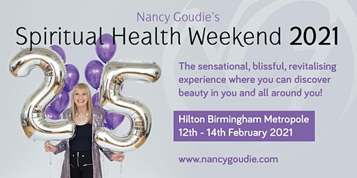 Nancy Goudie's Spiritual Health Weekend 2021
