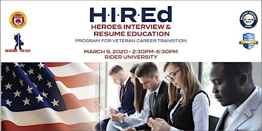 H.I.R.Ed. Veteran Career Transition Program
