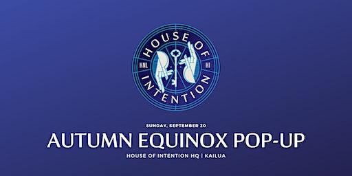 Autumn Equinox Pop-Up
