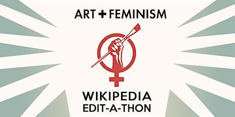 SAMA + Artpace | Art+ Feminism | Wikipedia Edit-a-Thon tickets
