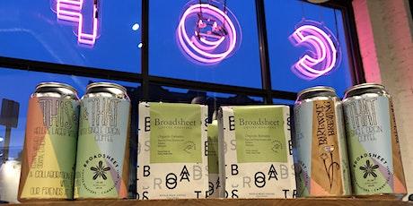 This & That: Barewolf Brewing Beer & Coffee Tasting @ Broadsheet tickets