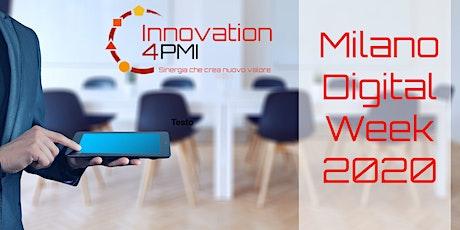 Innovation 4 PMI alla Milano Digital Week biglietti