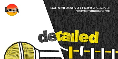 Derailed: Standup Comedy at Laugh Factory Chicago tickets