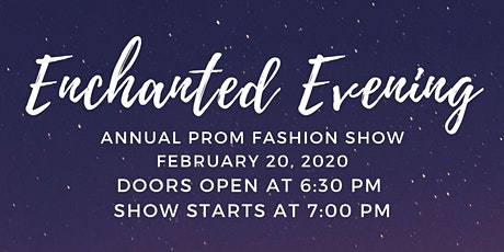 Prom Fashion Show tickets
