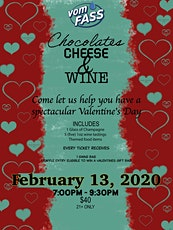 Chocolate, Cheese and Wine! tickets