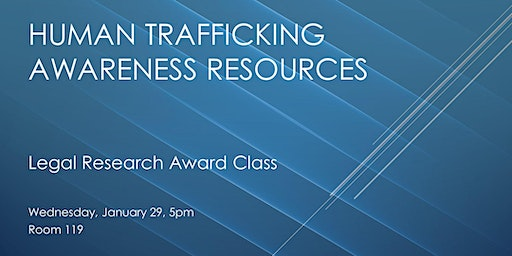 Human Trafficking Awareness Resources