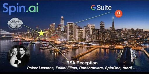 RSA Reception, Poker, Fellini Films, Spin Technology - RSA Badge Required