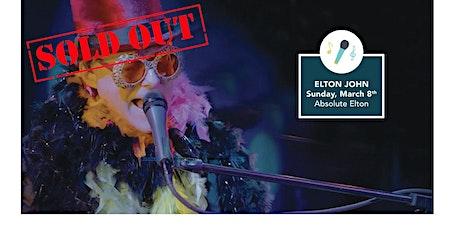 Absolute Elton! - Elton John Tribute Band tickets