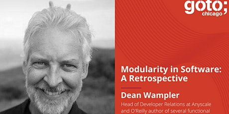 GOTO Night: Modularity in Software: A Retrospective with Dean Wampler tickets