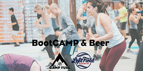 BootCAMP & Beer | Camp Fuel | Left Field Brewery tickets