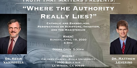 Where the Authority Really Lies? tickets