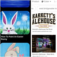 All Ages Easter Bunny Paint Event FALL RIVER