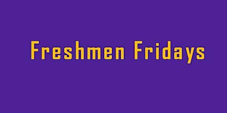 Freshmen Fridays GE Workshop tickets