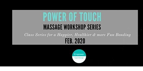 Couples Massage Class_Journey to Intimacy tickets