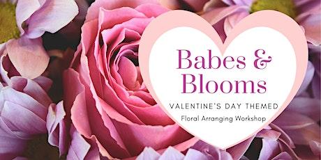 Babes & Blooms - Floral Workshop @ The Little Brick tickets
