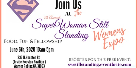 4th Annual SuperWoman StillStanding Women's Expo tickets