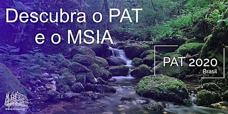 Descubra o seminário PAT e o MSIA bilhetes