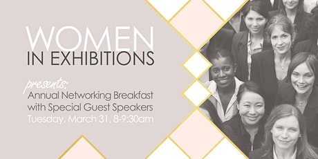 Women In Exhibitions Breakfast in the Connection Zone tickets