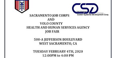 Sacramento Job Corps tickets