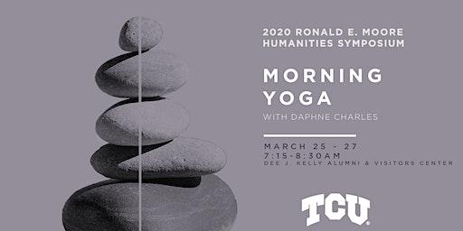 2020 Moore Symposium – Morning Yoga