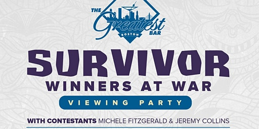 Survivor Winners at War Viewing Party with Michele Fitzgerald & Jeremy Collins