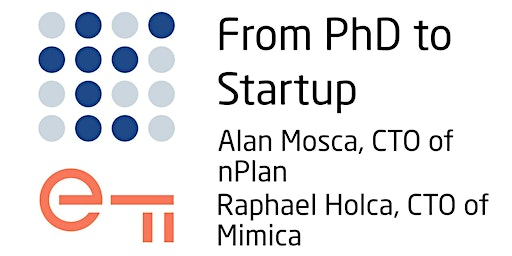 From PhD to Startup