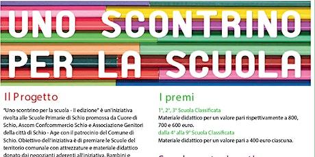 Premiazione Uno Scontrino per la Scuola - seconda edizione biglietti