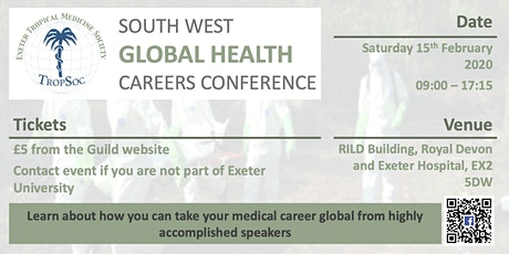 South West Global Health Careers Conference tickets