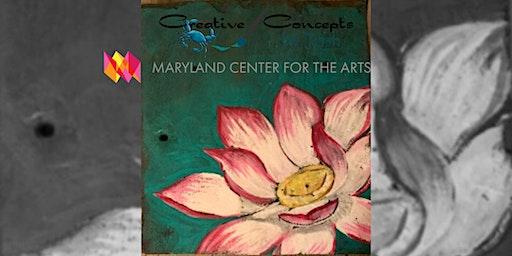 Lotus Slate Fundraiser Paint Night