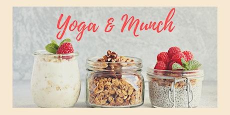 Yoga & Munch tickets