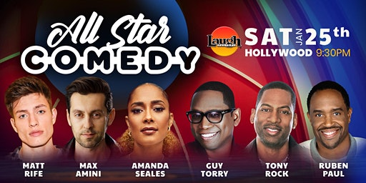 Max Amini, Amanda Seales, and more - Special Event: All-Star Comedy