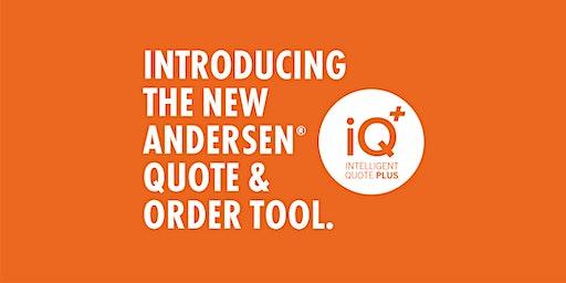 Andersen Windows iQ+ Training - Dublin, OH Sessions