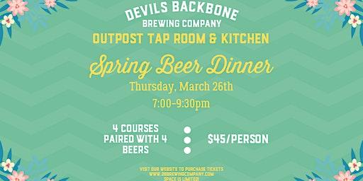 Spring Beer Dinner