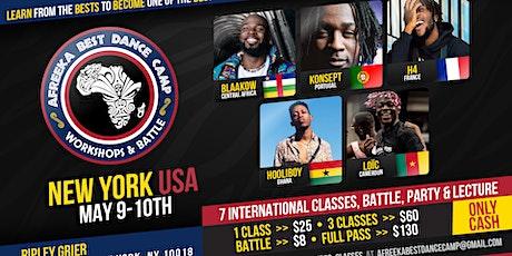 Afreeka Best Dance Camp - New York tickets