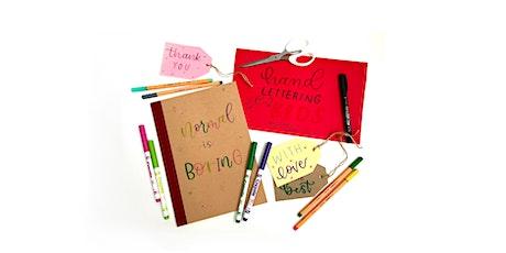 Kids Hand Lettering Taster Workshop for Beginners age 7+ tickets